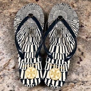 Authentic Tory Burch Flip Flops